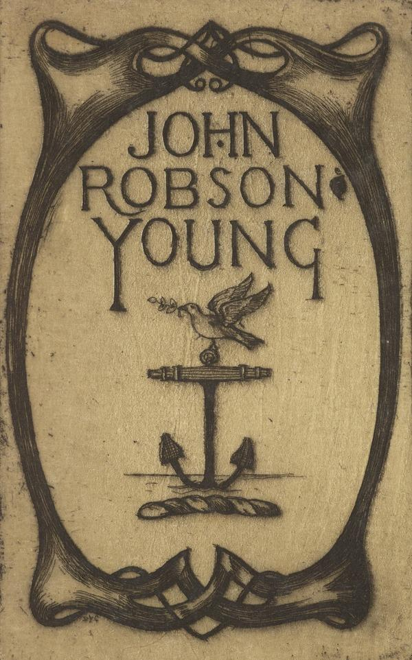 John Robson Young (Bookplate) (1909)