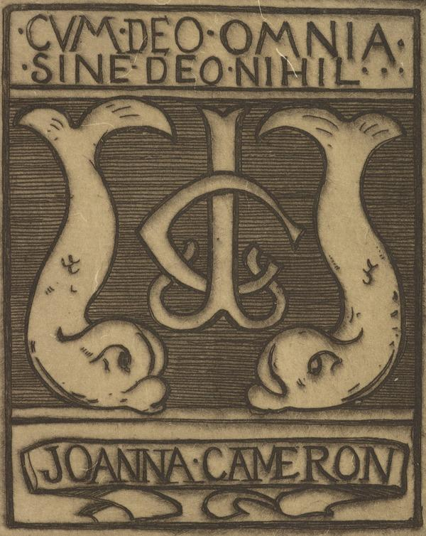 Joanna Cameron (Bookplate) (1895)