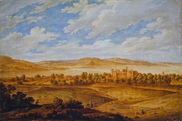 Seton Palace and the Forth Estuary (About 1639)