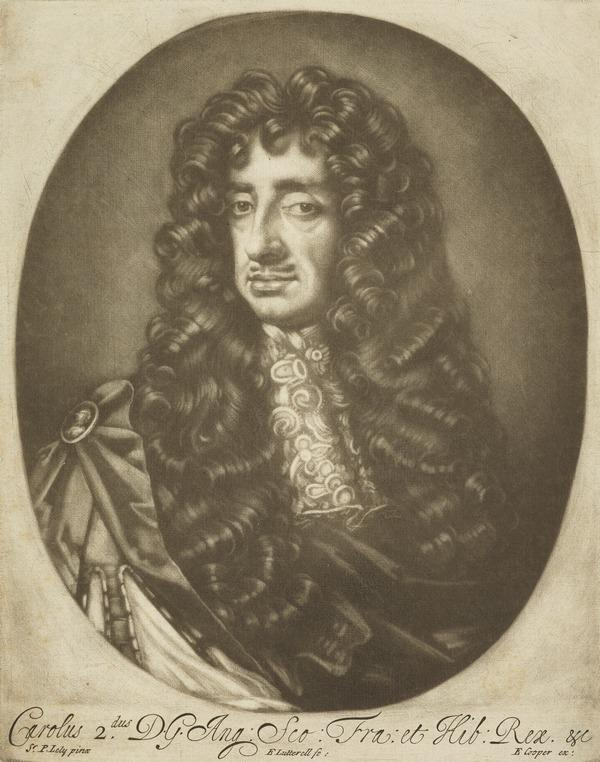 Charles II, 1630 - 1685. King of Scots 1649 - 1685, King of England and Ireland 1660 - 1685 (After 1671)