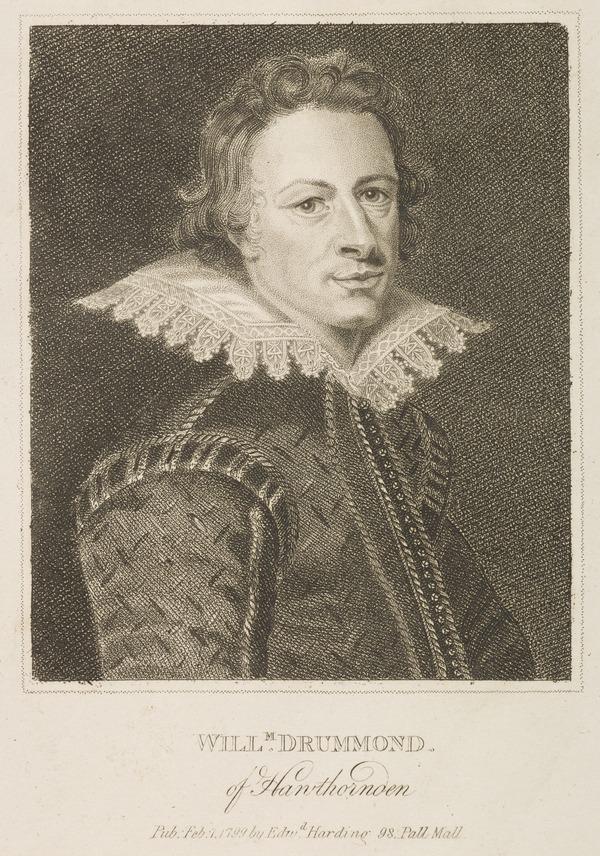 William Drummond of Hawthornden, 1585 - 1649. Poet (1799)