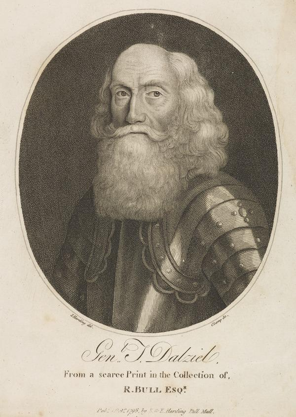 General Thomas Dalyell, c 1599 - 1685. Soldier in Russia and Commander-in-Chief in Scotland (1796)