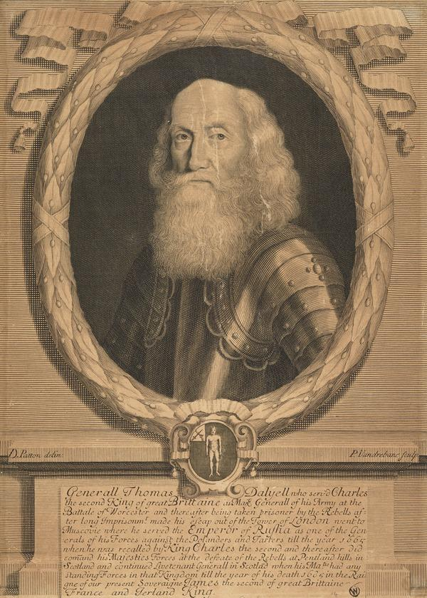 General Thomas Dalyell, c 1599 - 1685. Soldier in Russia and Commander-in-Chief in Scotland