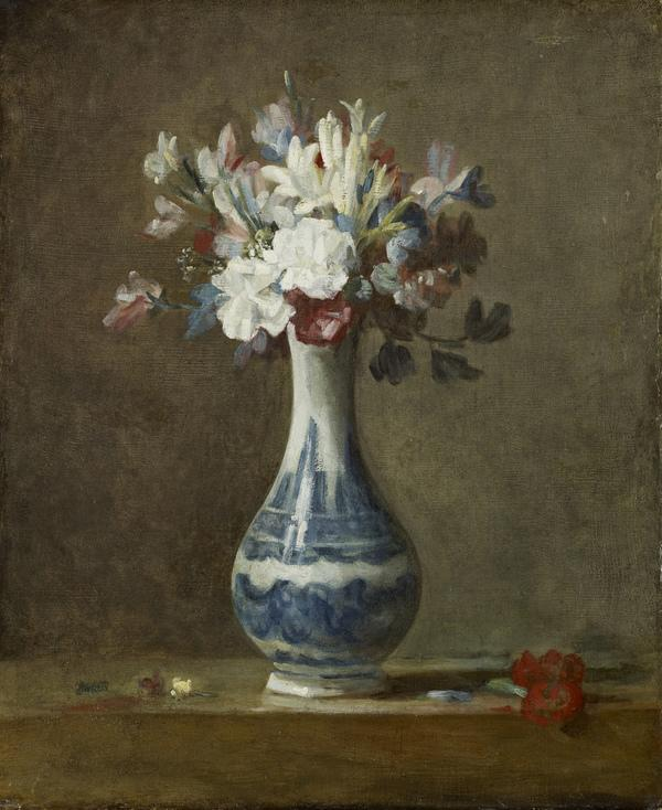 A Vase of Flowers (early 1760s)