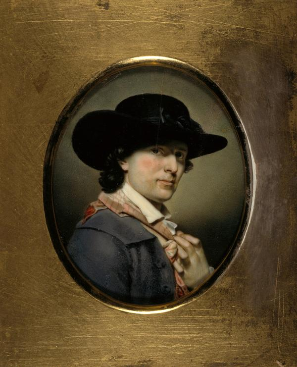 Archibald Skirving, 1749 - 1819, Artist. (Self-portrait) (About 1790)