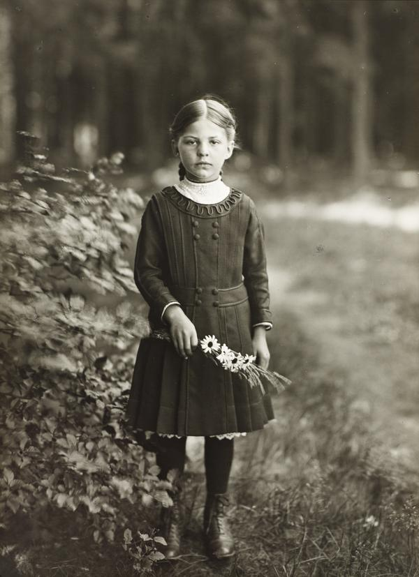 Farm Girl, c.1910 (about 1910)