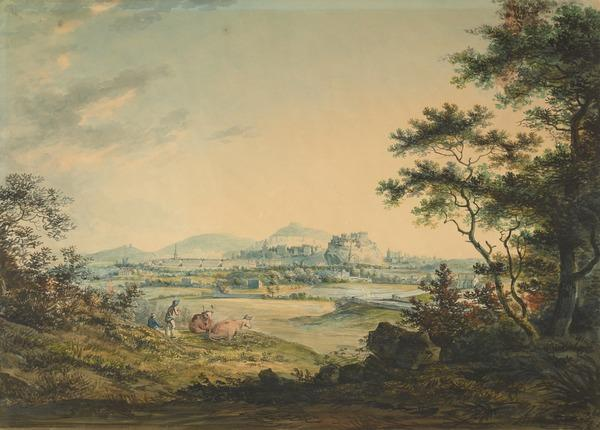 View of Edinburgh near Craigleith