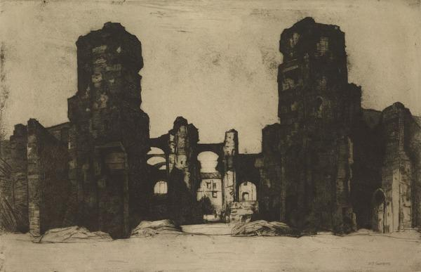 The Baths of Caracalla (1923)