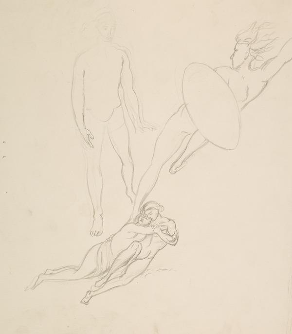 Messengers of the Sun. Possibly a Study for 'Morning' from the Series 'The Four Times of Day' (About 1833)