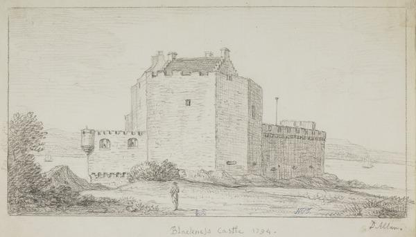 Blackness Castle, West Lothian (Dated 1794)