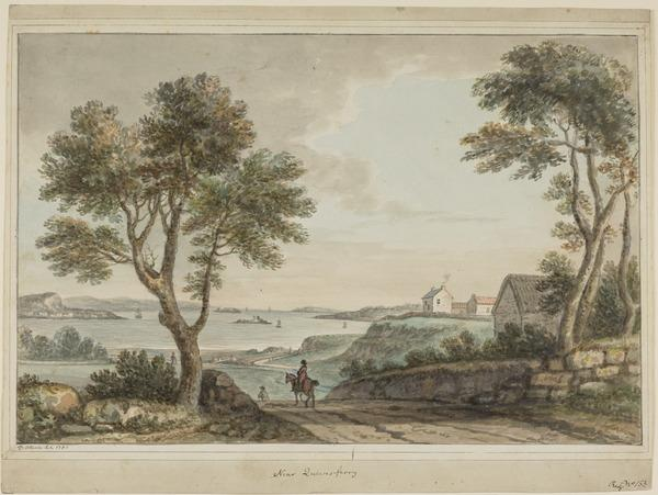 The Firth of Forth at South Queensferry, near Edinburgh (Dated 1791)