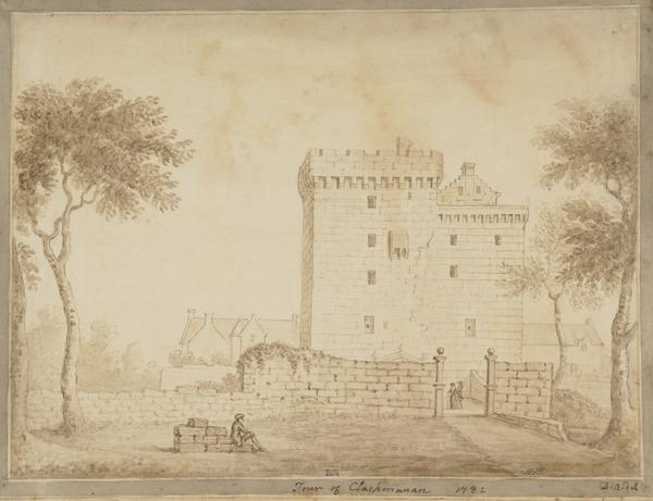 Clackmannan Tower, Clackmannanshire (Dated 1782)