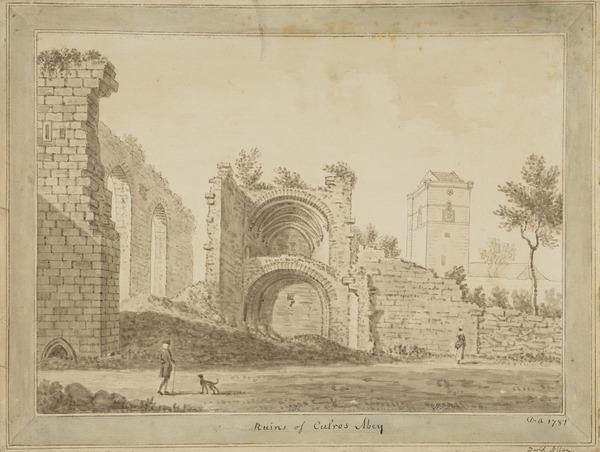 Culross Abbey, Fife (Dated 1781)