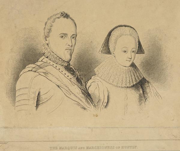 George Gordon, 1st Marquess of Huntly, 1562 - 1636. Catholic leader