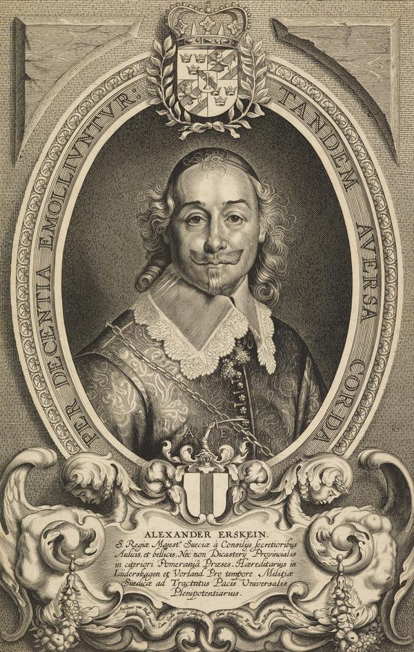 Alexander Erskine, 1598 - 1656. Swedish plenipotentiary at Munster, 1648