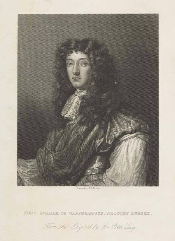 John Graham of Claverhouse, Viscount Dundee, c 1649 - 1689. Jacobite leader