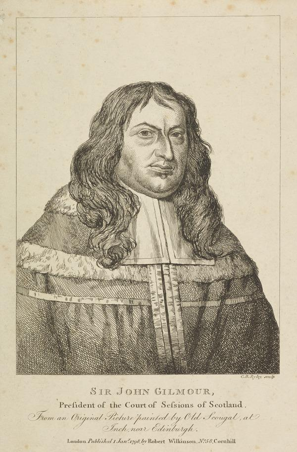 Sir John Gilmour, d. 1671. President of the Court of Sessions of Scotland (Published 1798)