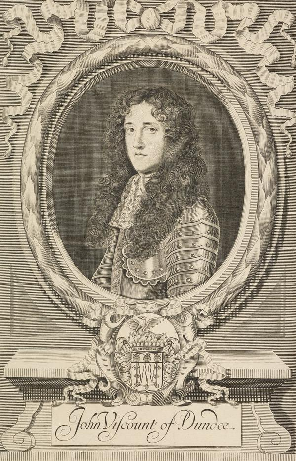 John Graham of Claverhouse, Viscount Dundee, c 1649 - 1689. Jacobite leader