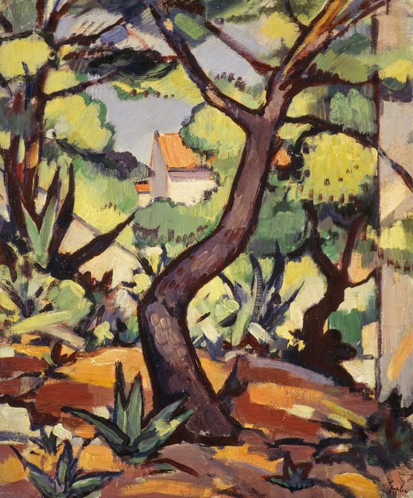 Landscape at Cassis (1924)