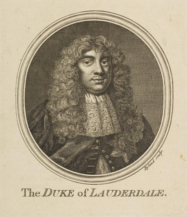 John Maitland, 1st Duke of Lauderdale, 1616 - 1682. Statesman (Published 1757)