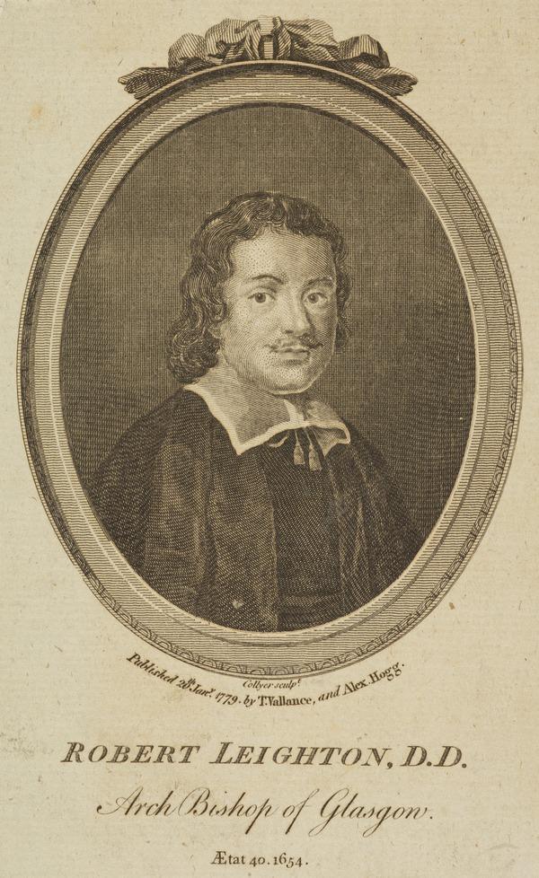 Robert Leighton, 1611 - 1684. Archbishop of Glasgow (Published 1779)