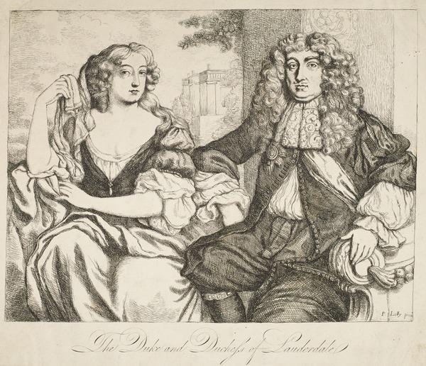 John Maitland, 1st Duke of Lauderdale, 1616 - 1682. Statesman