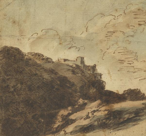 Landscape, with Castle on a Hill in the Background