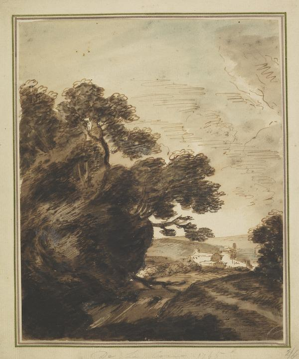 Landscape (Dated 1765)