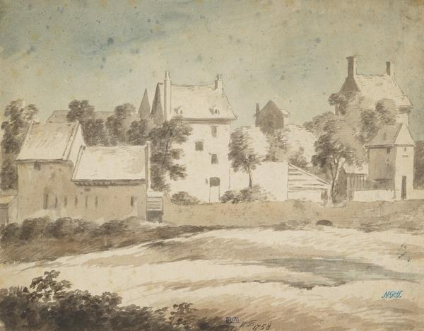 Manor House with Stables and Outhouses (Ayrshire ?) (Dated 1758)