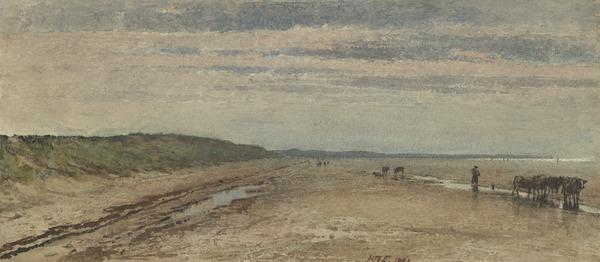 Ebb Tide (Dated 1882)