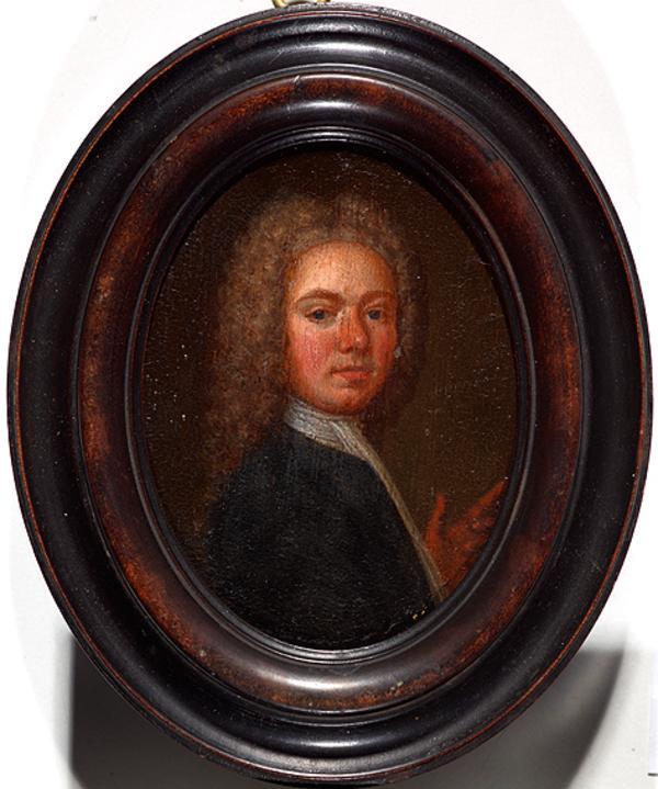 John Alexander, 1686 - 1766. Artist (Self-portrait) (Dated 1711)