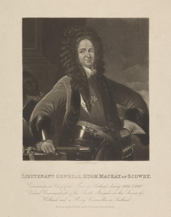 Lieutenant-General Hugh Mackay, c 1640 - 1692