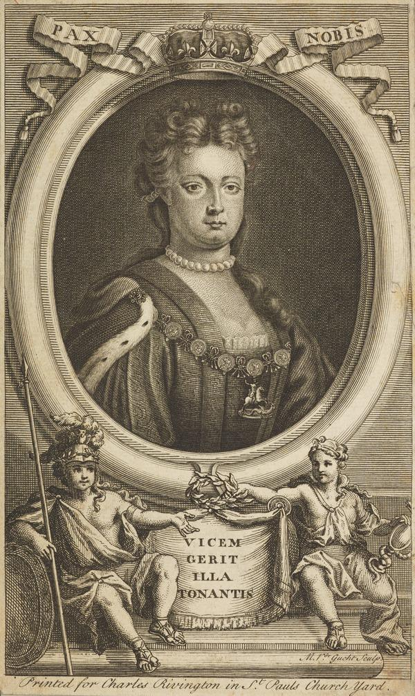 Mary II, 1662 - 1694. Reigned jointly with William III, 1688 - 1694