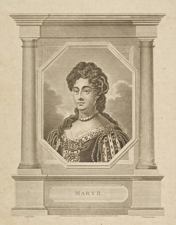 Mary II, 1662 - 1694. Reigned jointly with William III, 1688 - 1694 (Published 1803)