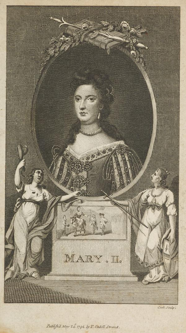 Mary II, 1662 - 1694. Reigned jointly with William III, 1688 - 1694 (Published 1794)