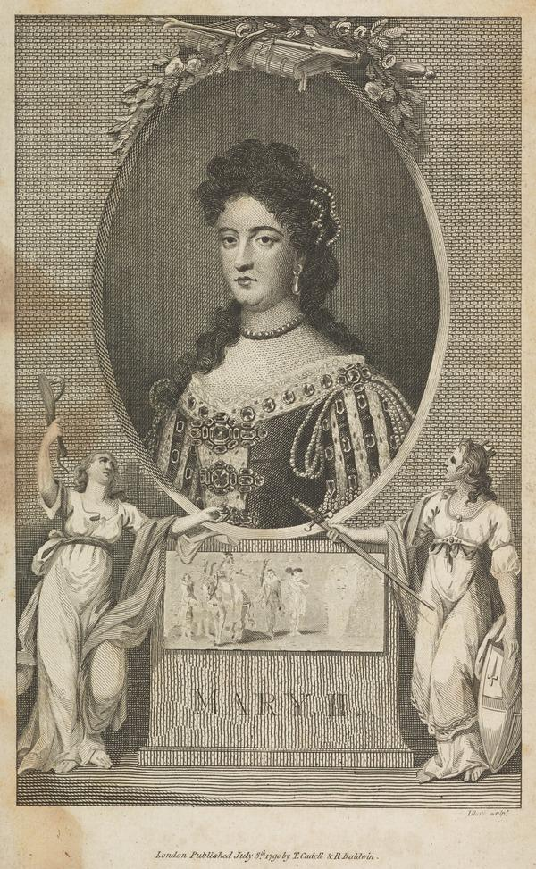 Mary II, 1662 - 1694. Reigned jointly with William III, 1688 - 1694 (Published 1790)