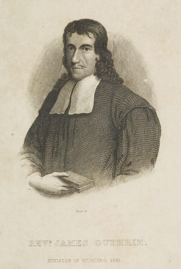 Rev. James Guthrie, c 1612 - 1661. Scottish Presbyterian divine; executed for treason