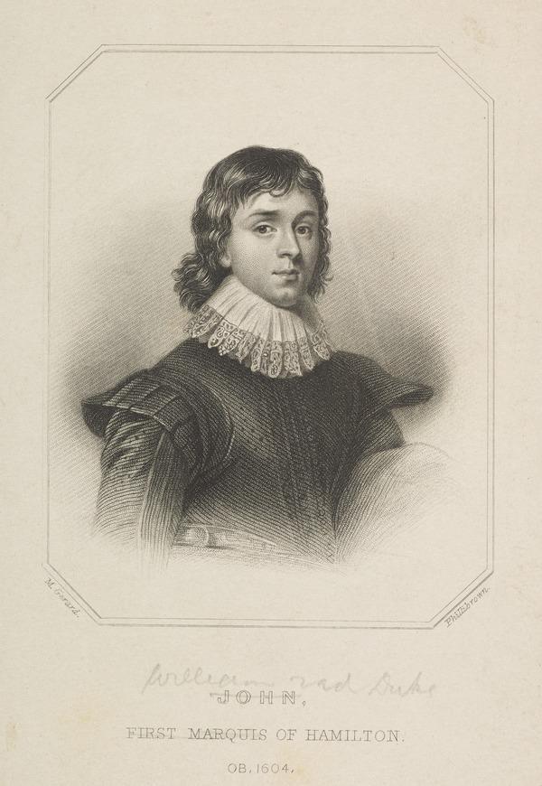 William Hamilton, 2nd Duke of Hamilton, 1616 - 1651. Soldier