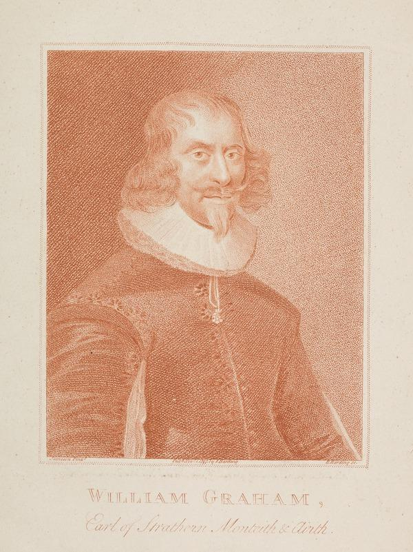 William Graham, 7th Earl of Menteith and 1st Earl of Airth, 1589 - 1661. President of the Privy Council. (Published 1797)