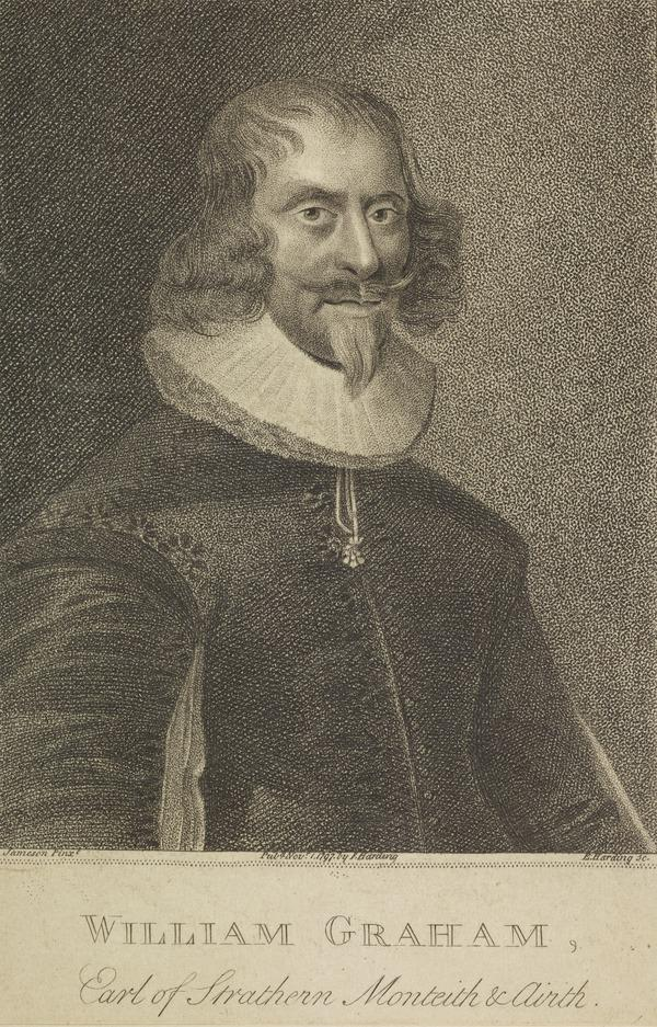 William Graham, 7th Earl of Menteith and 1st Earl of Airth, 1589 - 1661. President of the Privy Council.