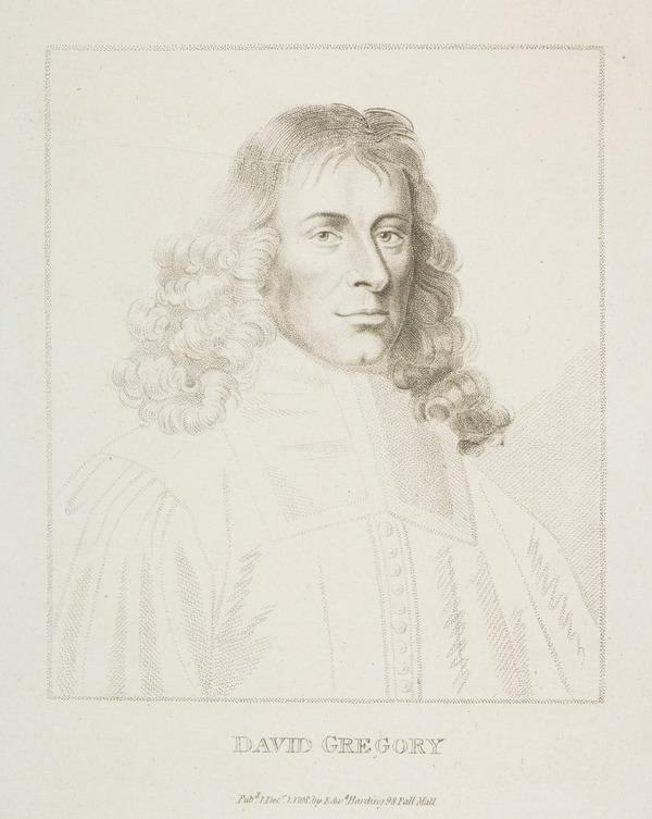 Professor James Gregory, 1638 - 1675. Mathematician