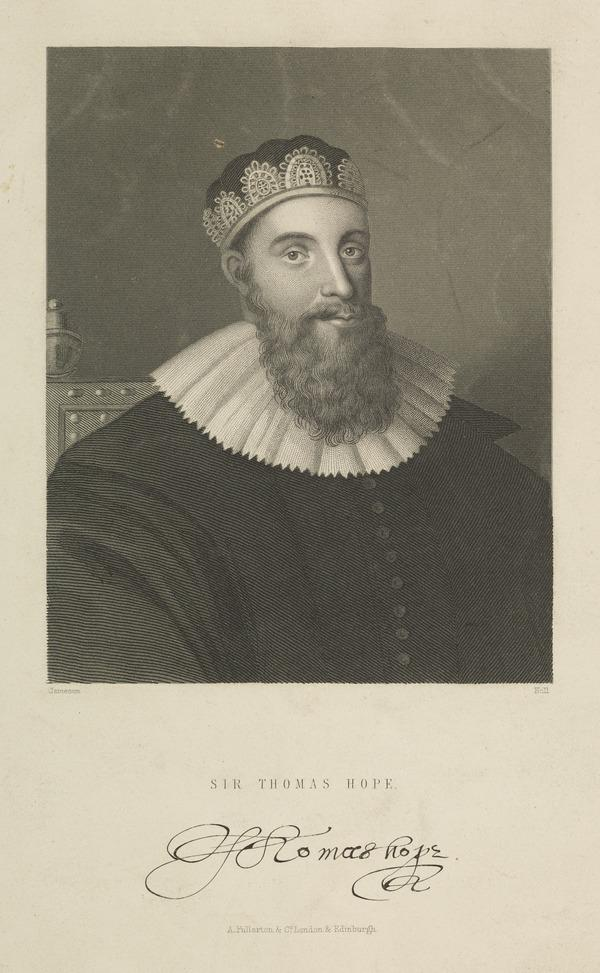 Sir Thomas Hope, d. 1646. Lord Advocate of Scotland