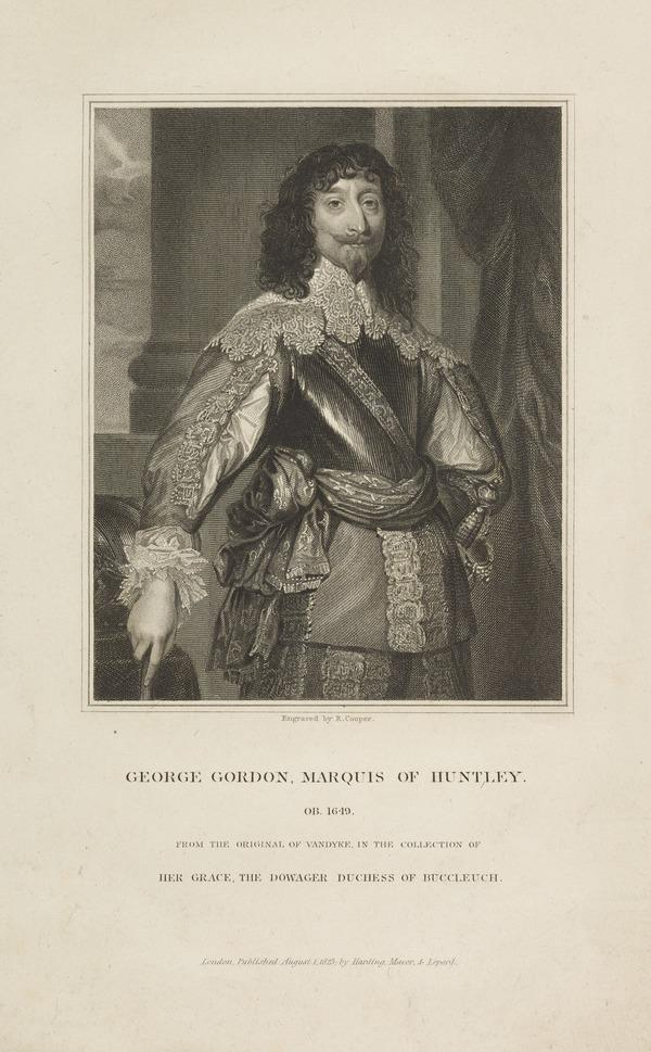 George Gordon, 2nd Marquess of Huntly, d. 1649. Royalist (Published 1823)