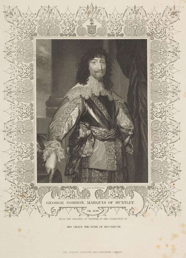 George Gordon, 2nd Marquess of Huntly, d. 1649. Royalist