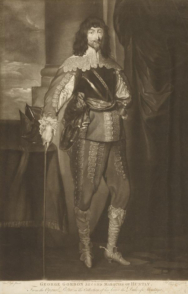 George Gordon, 2nd Marquess of Huntly, d. 1649. Royalist (Published 1775)