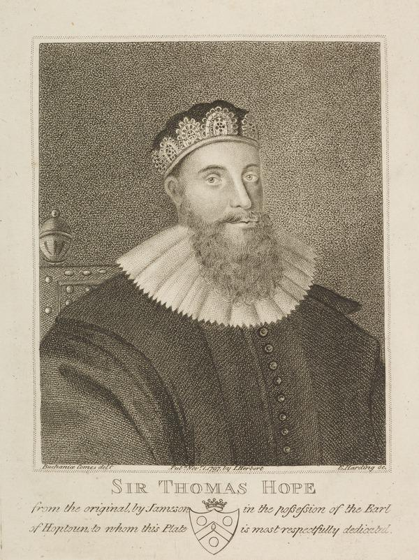 Sir Thomas Hope (of Craighall and Kerse), d. 1646. Lord Justice General (Published 1797)