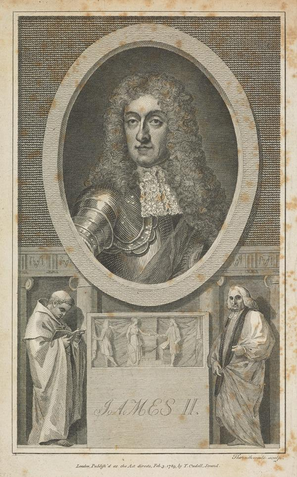 James VII and II, 1633 - 1701. Reigned 1685 - 1688 (Published 1789)