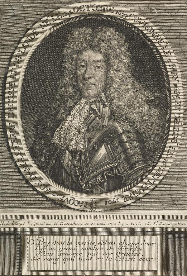 James VII and II, 1633 - 1701. Reigned 1685 - 1688