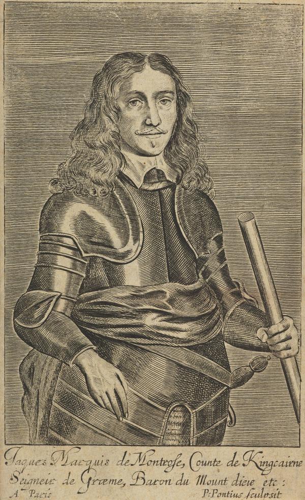 James Graham, 1st Marquess of Montrose, 1612 - 1650. Royalist (Published 1652)