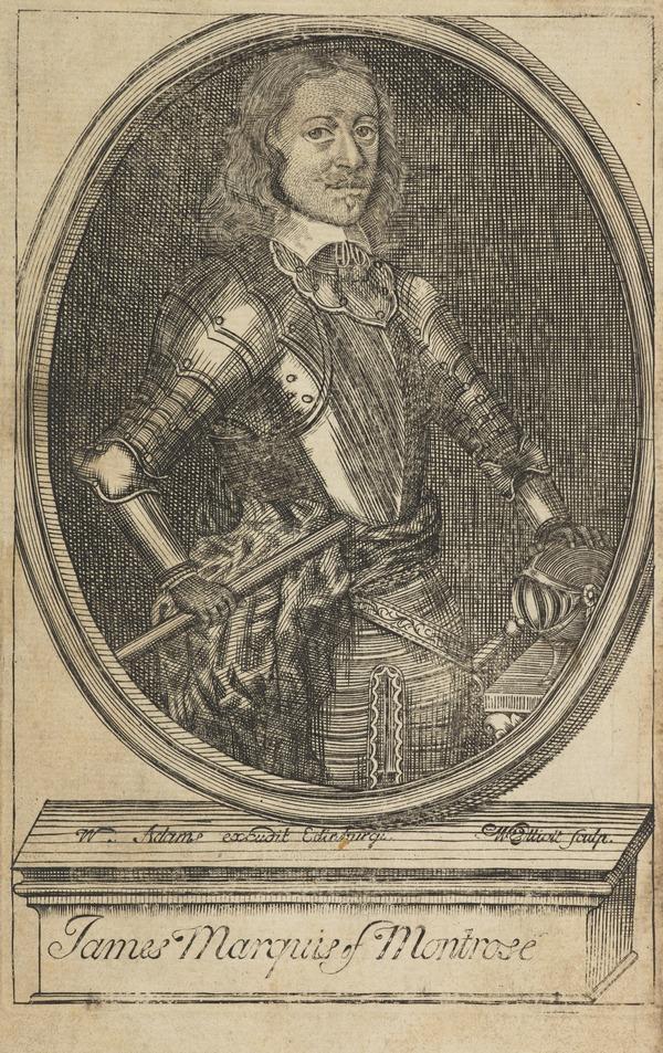 James Graham, 1st Marquess of Montrose, 1612 - 1650. Royalist (Published 1720)